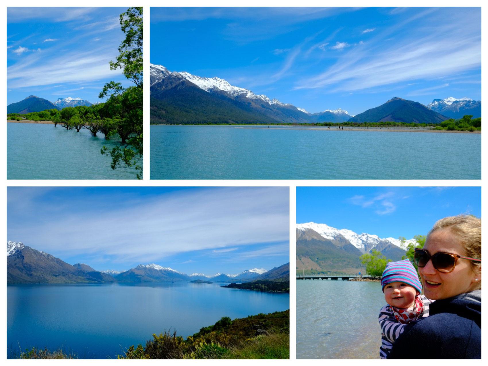 Glenorchy / Neuseeland am Lake Wakatipu