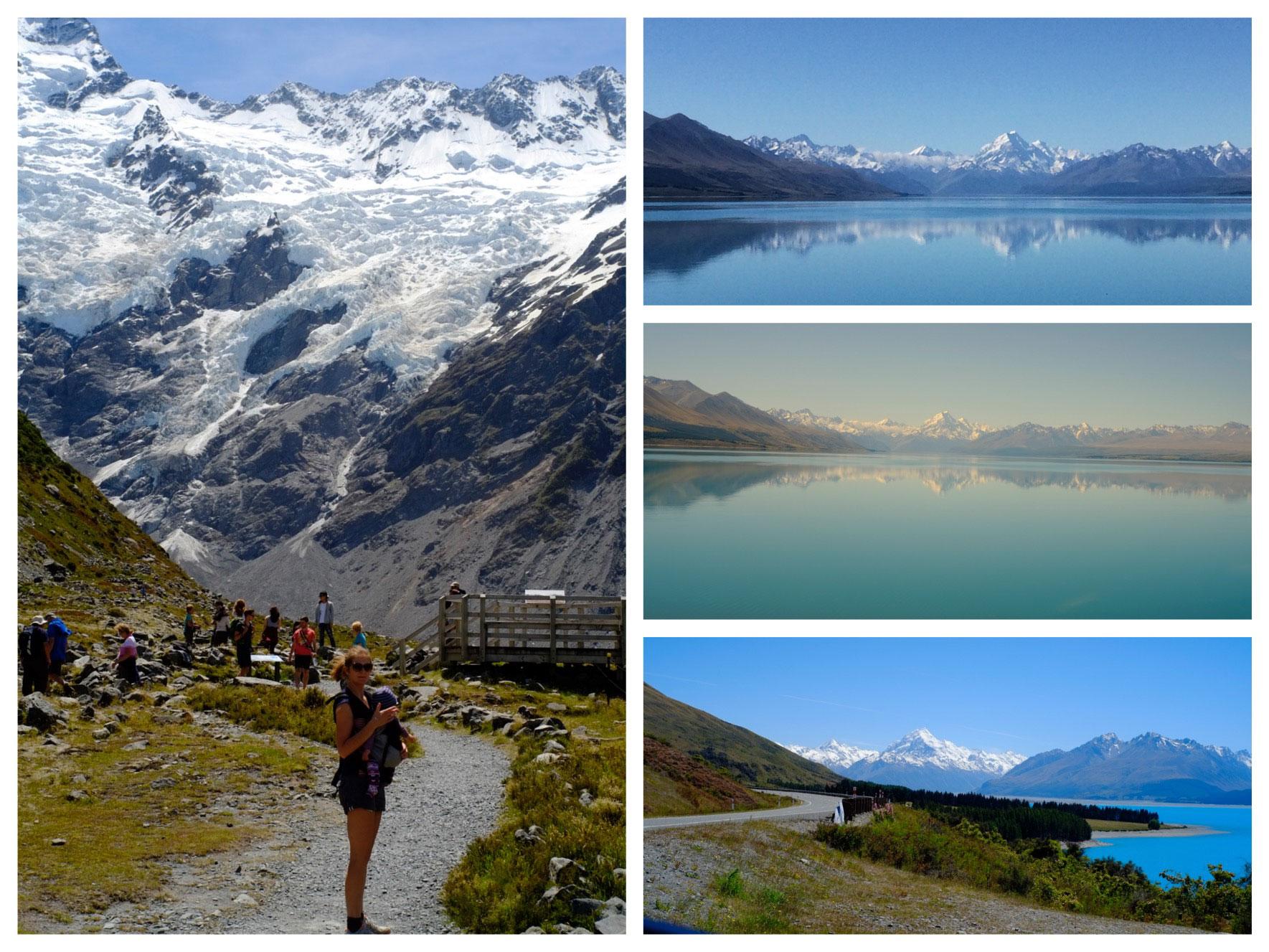 Mount Cook ist der höchste Berg in Neuseeland