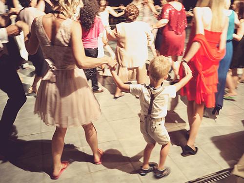Griechenland mit Kind - Griechische Hochzeit