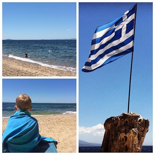 Strandleben - Griechenland mit Kind