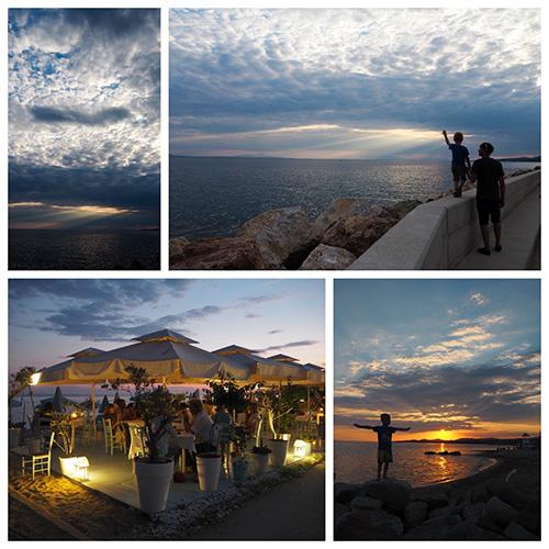 Griechenland mit Kind - Hafenstadt Nikiti