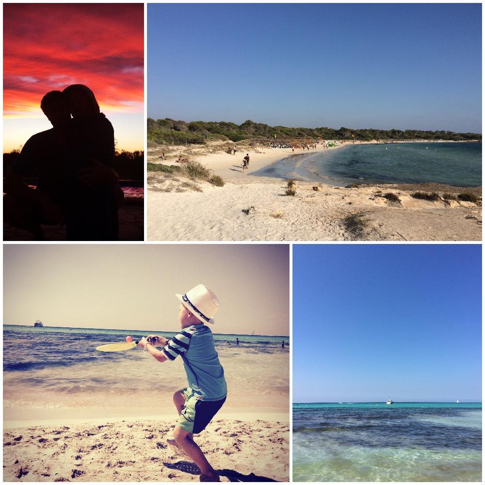 Fincaurlaub Mallorca mit Baby - Strand