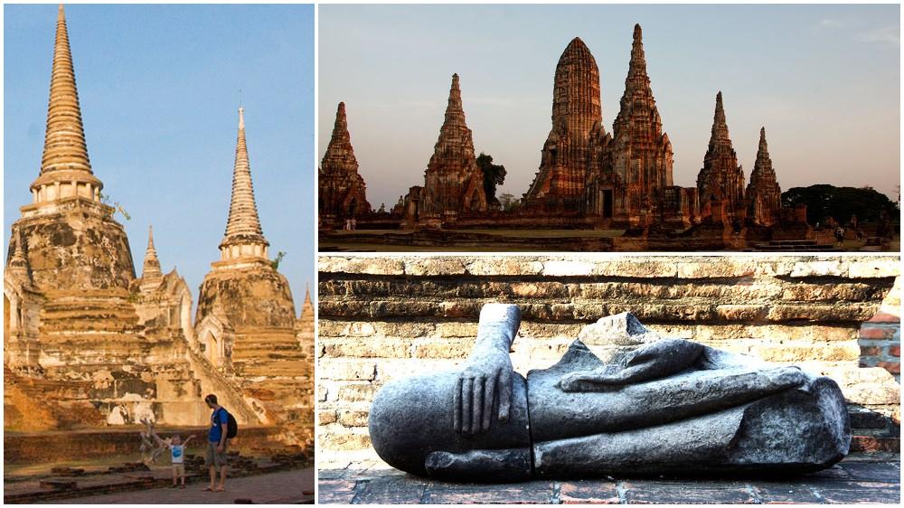 Thailand Rundreise mit Kind -Besuch von Ayutthaya