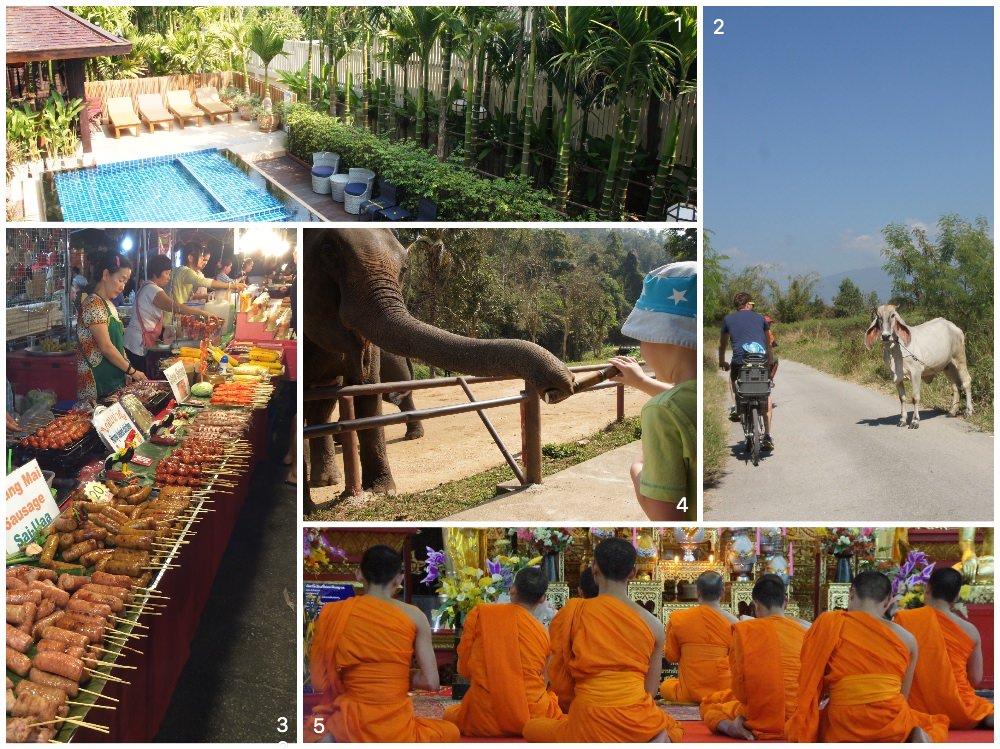 Chiang Mai sollte bei einer Thailand Rundreise mit Kind nicht fehlen.