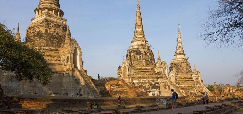 Ayutthaya mit Kind erkunden - Thailand
